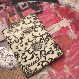 Black and White Passport Cover